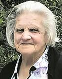 Todesanzeige Rosa Geiser